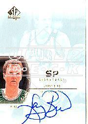 2002-03 SP Authentic SP Signatures #LB Larry Bird