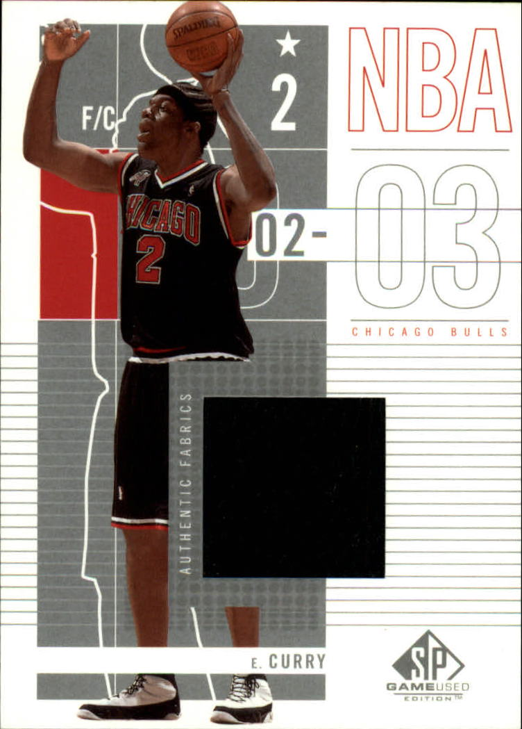 2002-03 SP Game Used #12 Eddy Curry JSY