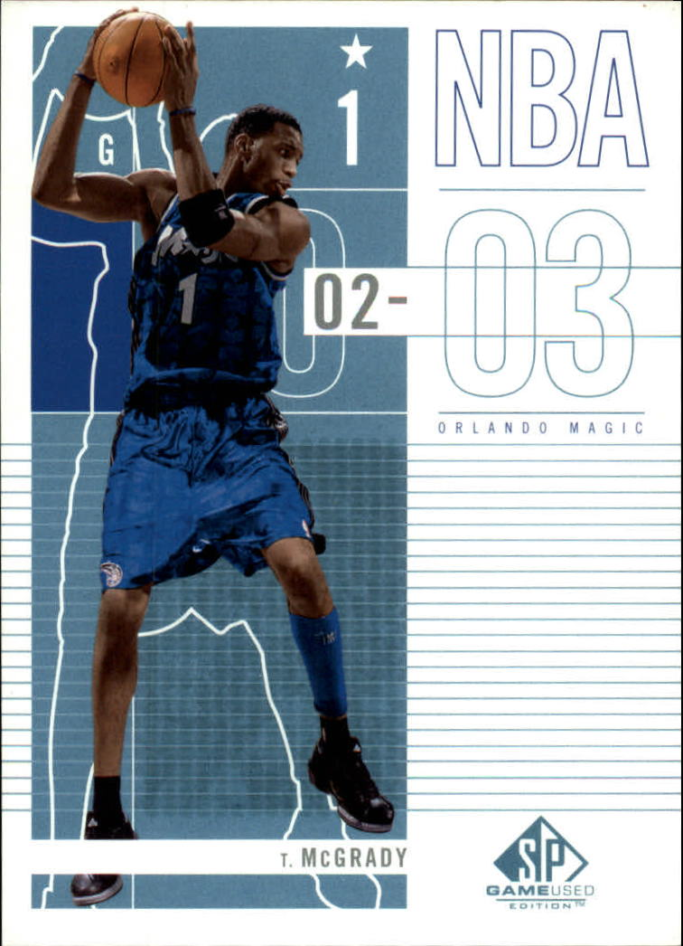2002-03 SP Game Used #68 Tracy McGrady