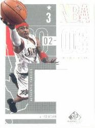 2002-03 SP Game Used #71 Allen Iverson JSY