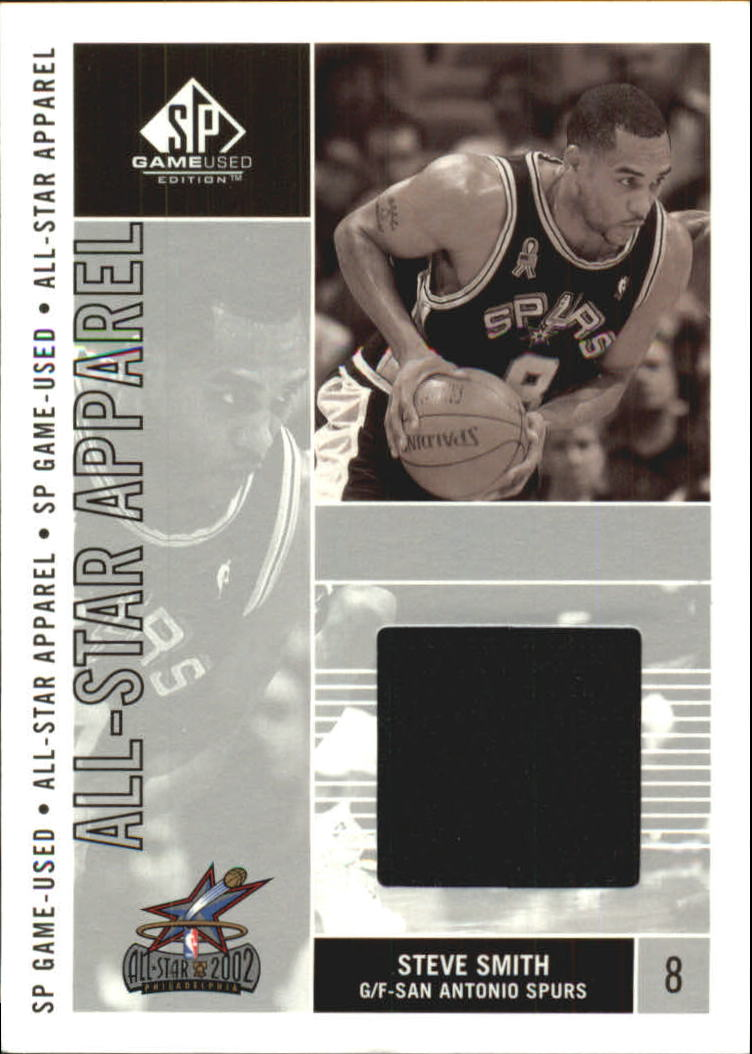 2002-03 SP Game Used All-Star Apparel #SSAS Steve Smith