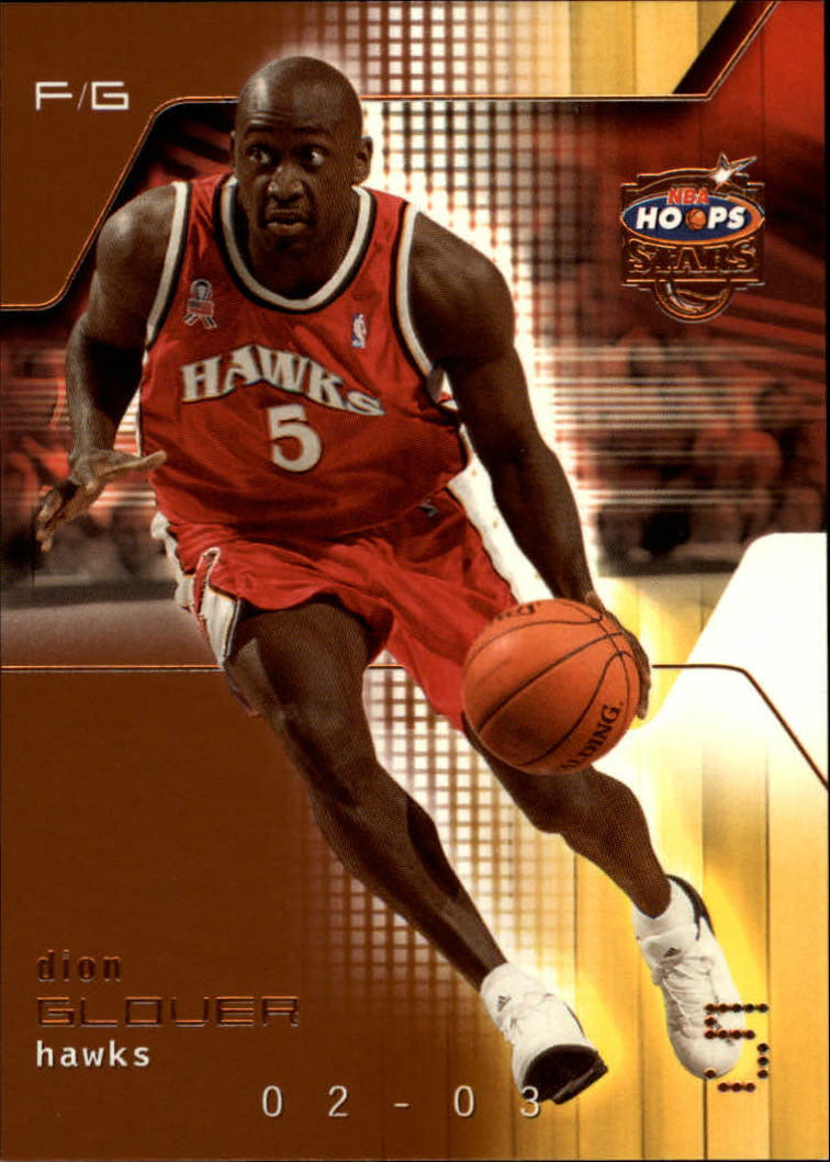 2002-03 Hoops Stars Five-Star #123 Dion Glover