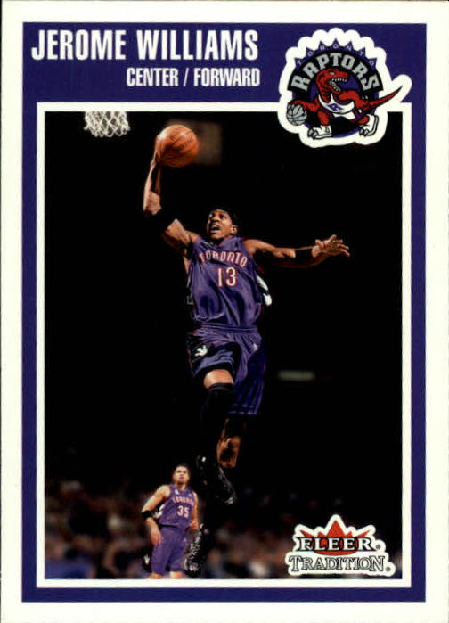 2002-03 Fleer Tradition #156 Jerome Williams