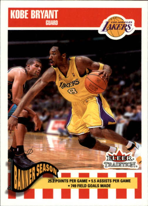 2002-03 Fleer Tradition #259 Kobe Bryant