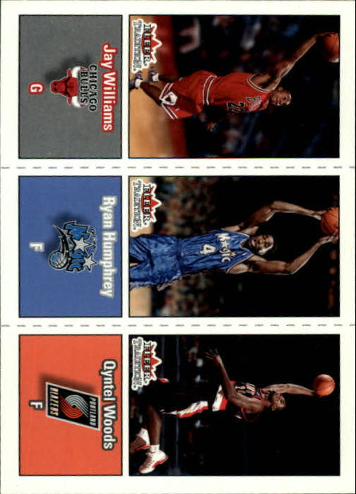 2002-03 Fleer Tradition #294 Jay Williams/Ryan Humphrey/Qyntel Woods