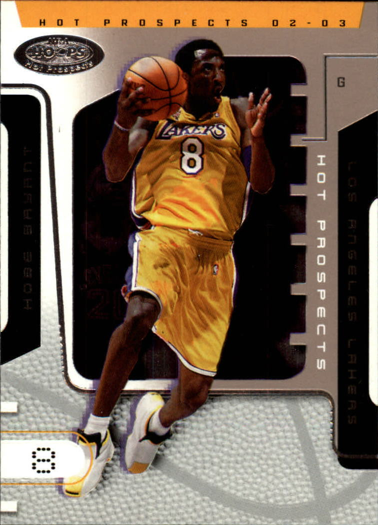 2002-03 Hoops Hot Prospects #15 Kobe Bryant