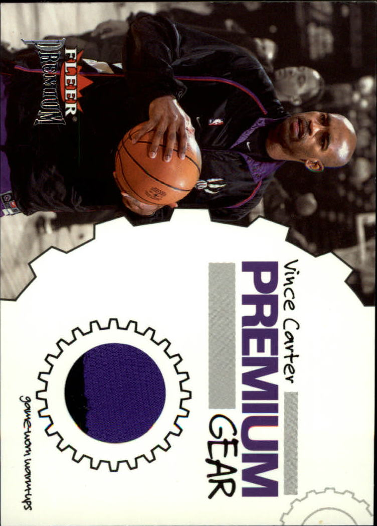 2002-03 Fleer Premium Gear #2 Vince Carter