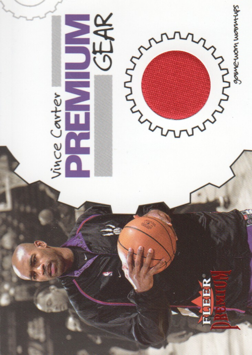 2002-03 Fleer Premium Gear Ruby #2 Vince Carter