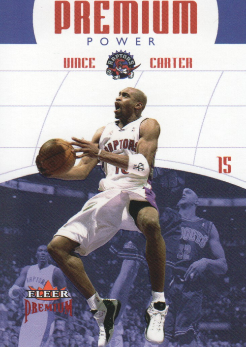 2002-03 Fleer Premium Power Ruby #6 Vince Carter