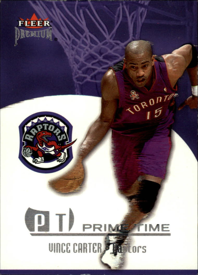 2002-03 Fleer Premium Prime Time #2 Vince Carter