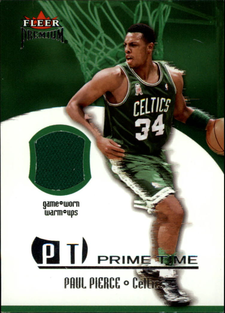 2002-03 Fleer Premium Prime Time Game Used #8 Paul Pierce