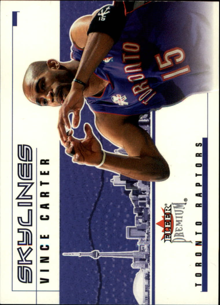2002-03 Fleer Premium Skylines #3 Vince Carter