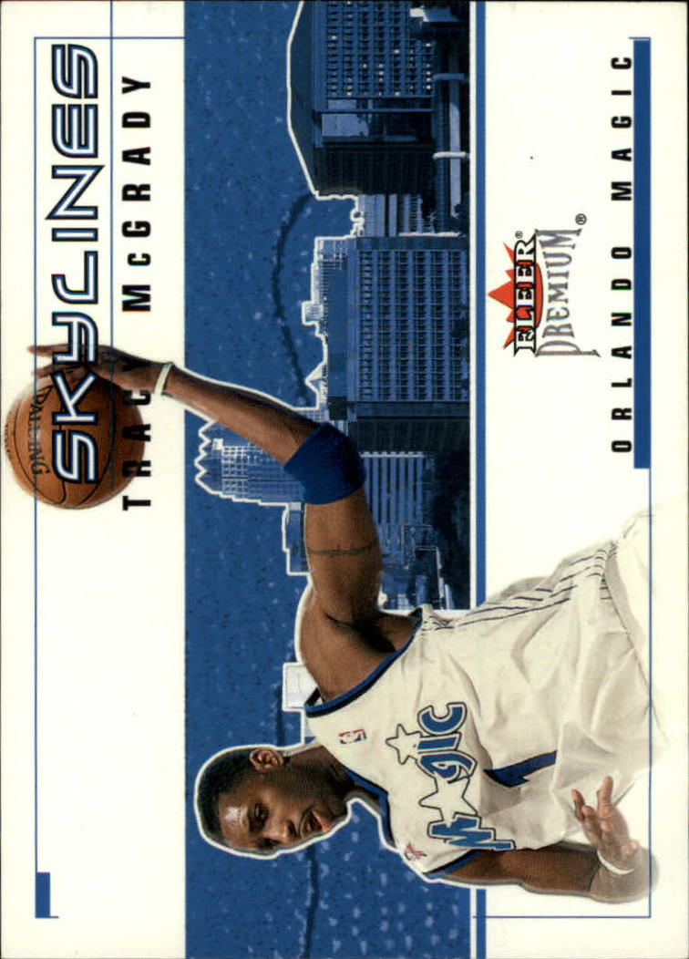 2002-03 Fleer Premium Skylines #8 Tracy McGrady
