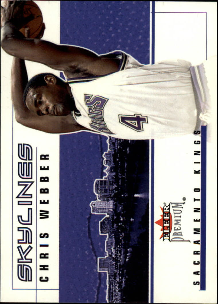 2002-03 Fleer Premium Skylines #9 Chris Webber