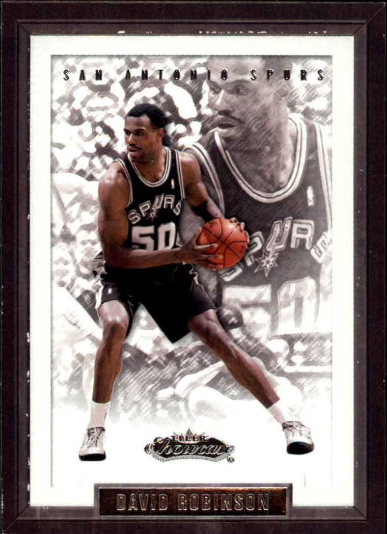 2002-03 Fleer Showcase #12 David Robinson