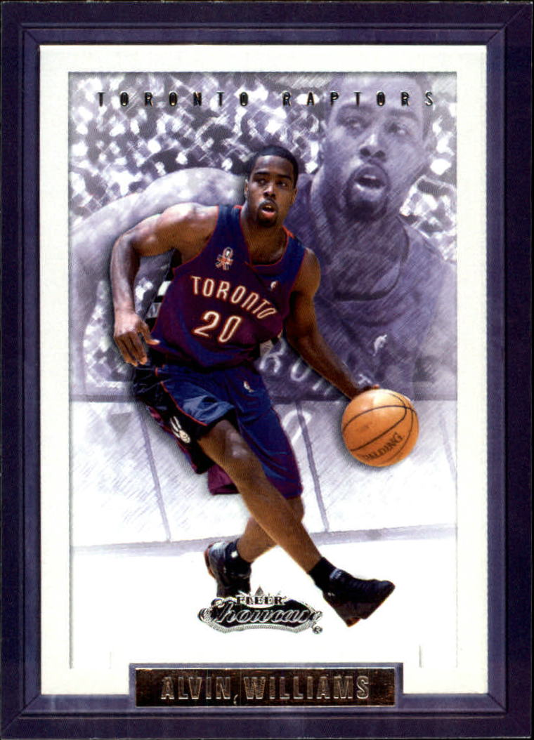 2002-03 Fleer Showcase #16 Alvin Williams