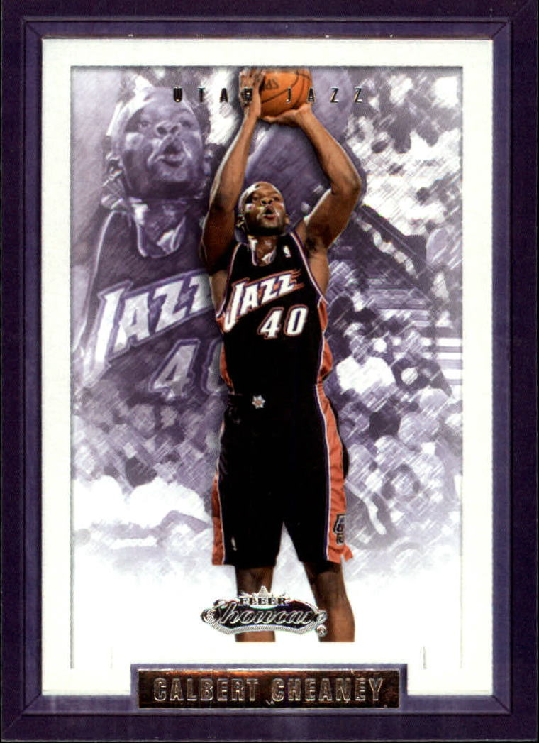 2002-03 Fleer Showcase #22 Calbert Cheaney
