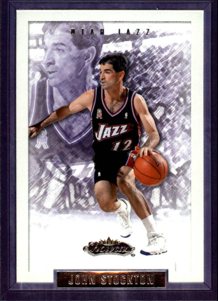 2002-03 Fleer Showcase #26 John Stockton