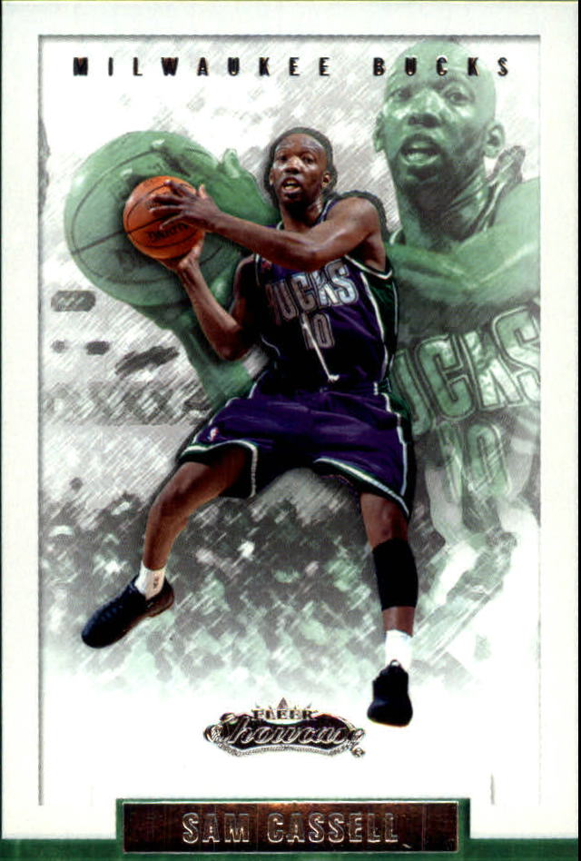 2002-03 Fleer Showcase #29 Sam Cassell