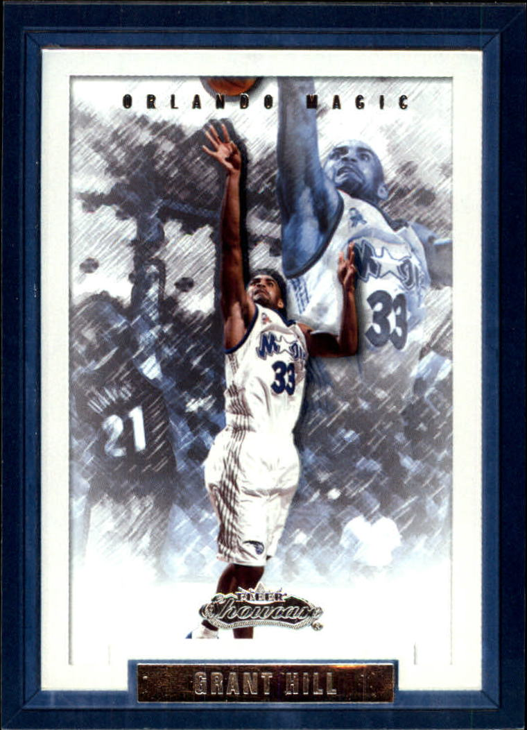 2002-03 Fleer Showcase #34 Grant Hill