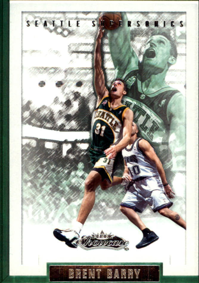 2002-03 Fleer Showcase #43 Brent Barry