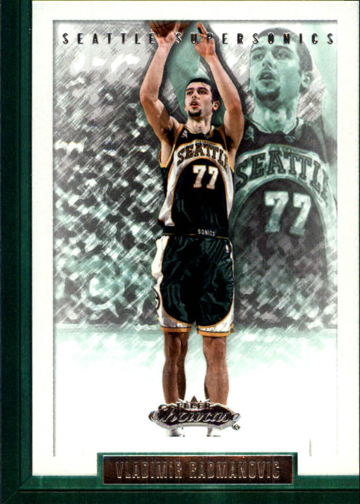 2002-03 Fleer Showcase #53 Vladimir Radmanovic
