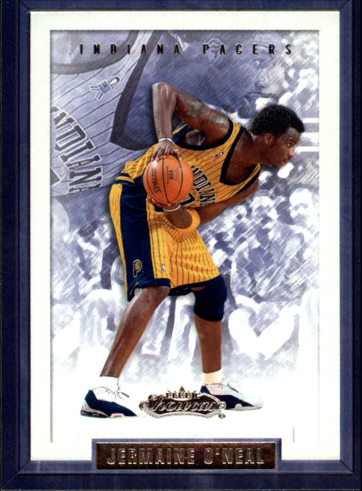 2002-03 Fleer Showcase #71 Jermaine O'Neal