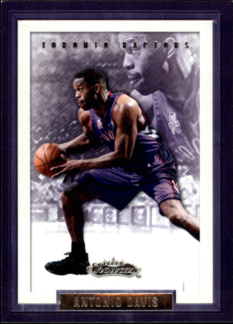 2002-03 Fleer Showcase #85 Antonio Davis