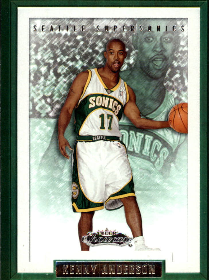 2002-03 Fleer Showcase #95 Kenny Anderson