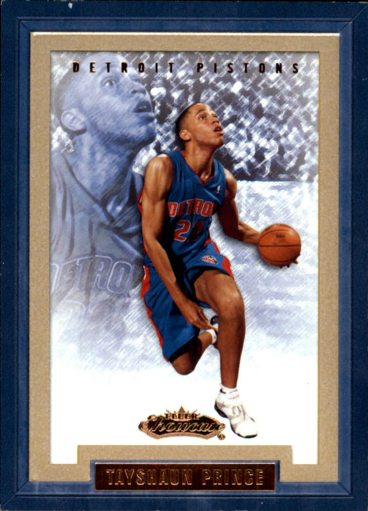 2002-03 Fleer Showcase #129 Tayshaun Prince RC