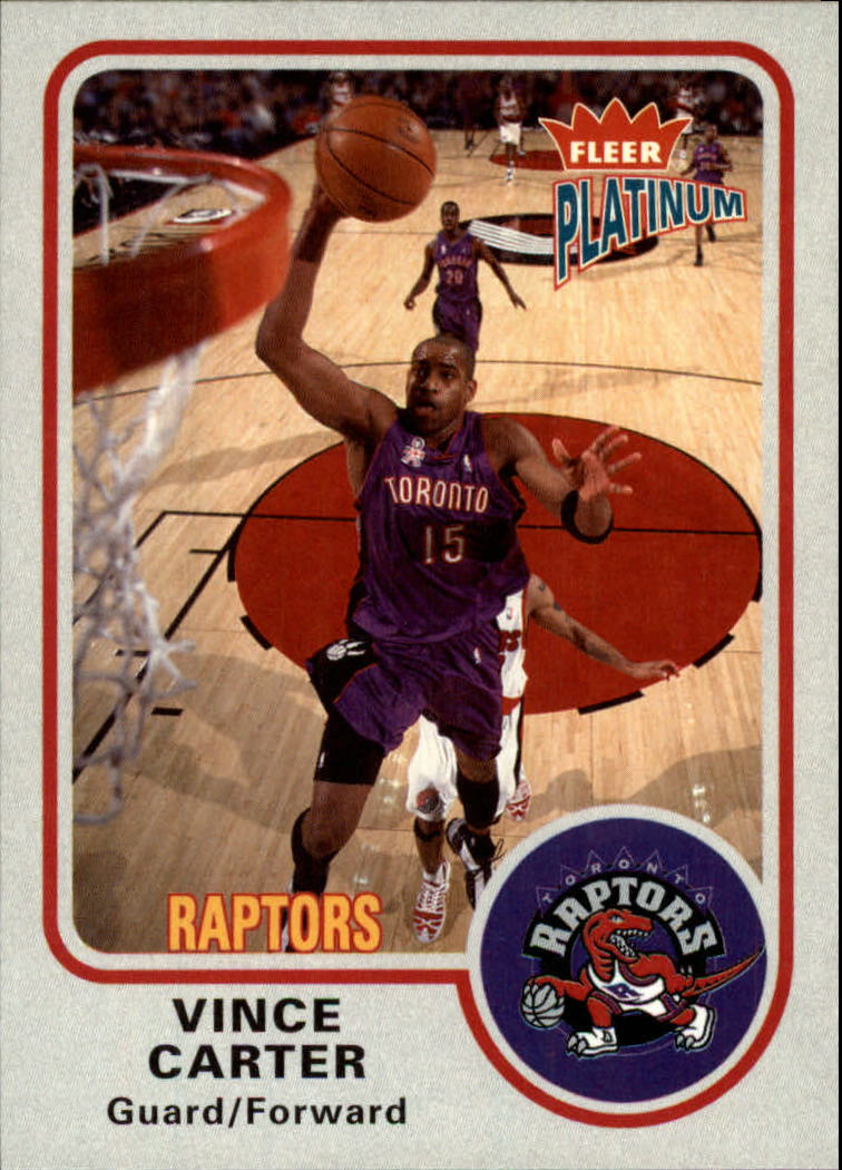 2002-03 Fleer Platinum #1 Vince Carter