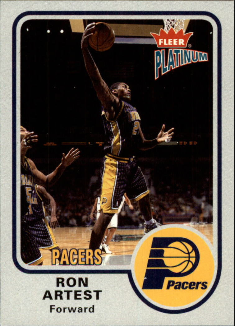 2002-03 Fleer Platinum #5 Ron Artest