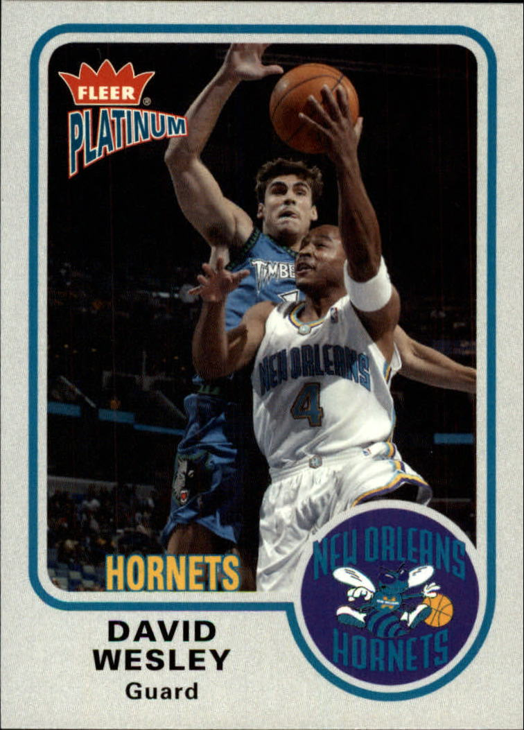 2002-03 Fleer Platinum #9 David Wesley