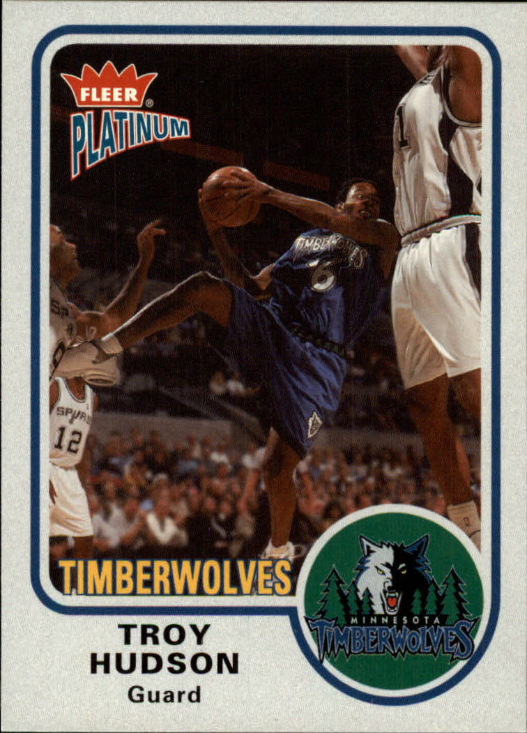 2002-03 Fleer Platinum #12 Troy Hudson