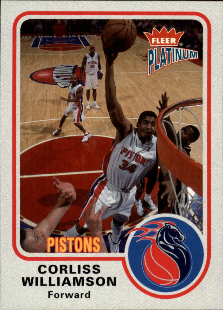 2002-03 Fleer Platinum #14 Corliss Williamson