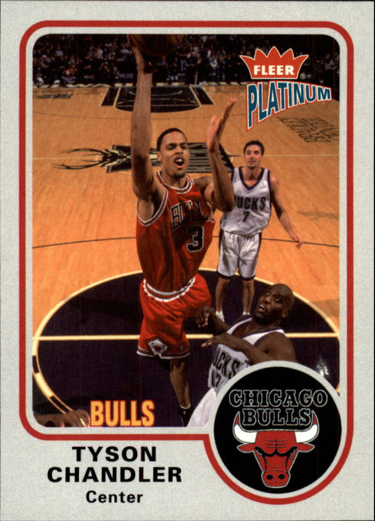 2002-03 Fleer Platinum #20 Tyson Chandler