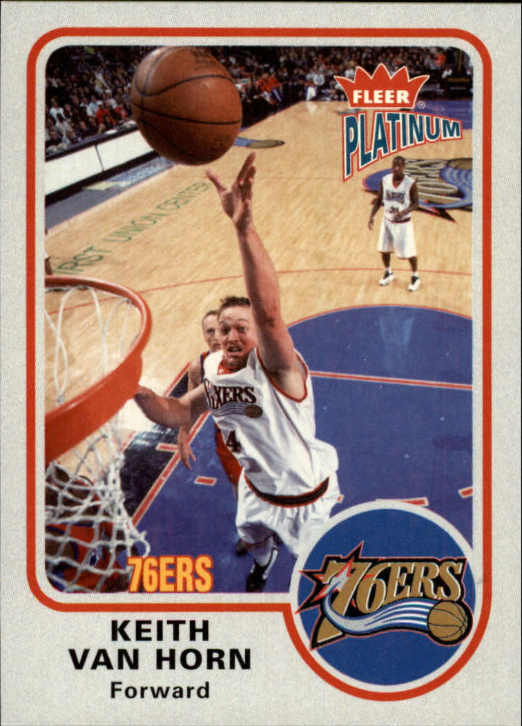 2002-03 Fleer Platinum #27 Keith Van Horn