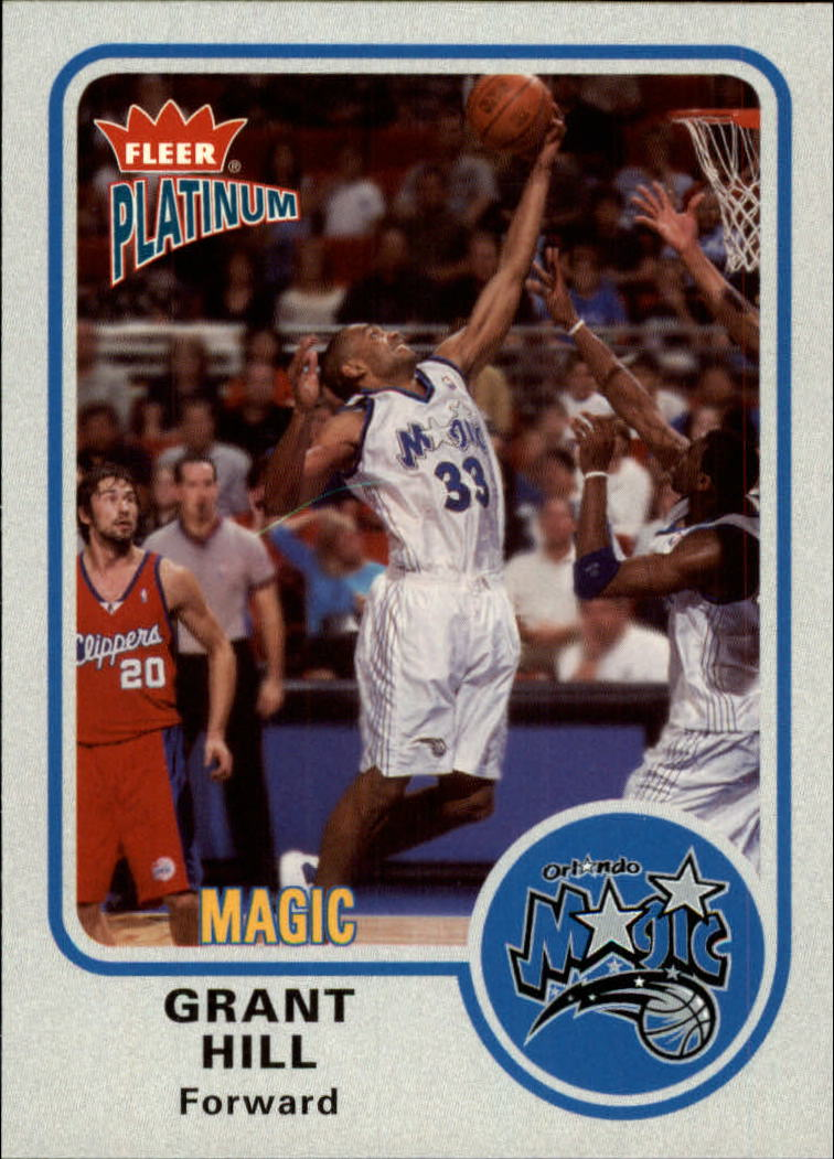 2002-03 Fleer Platinum #29 Grant Hill