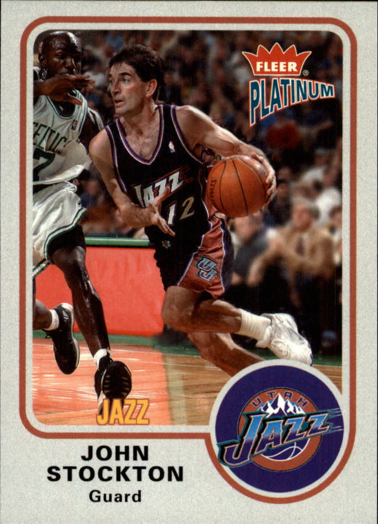 2002-03 Fleer Platinum #31 John Stockton