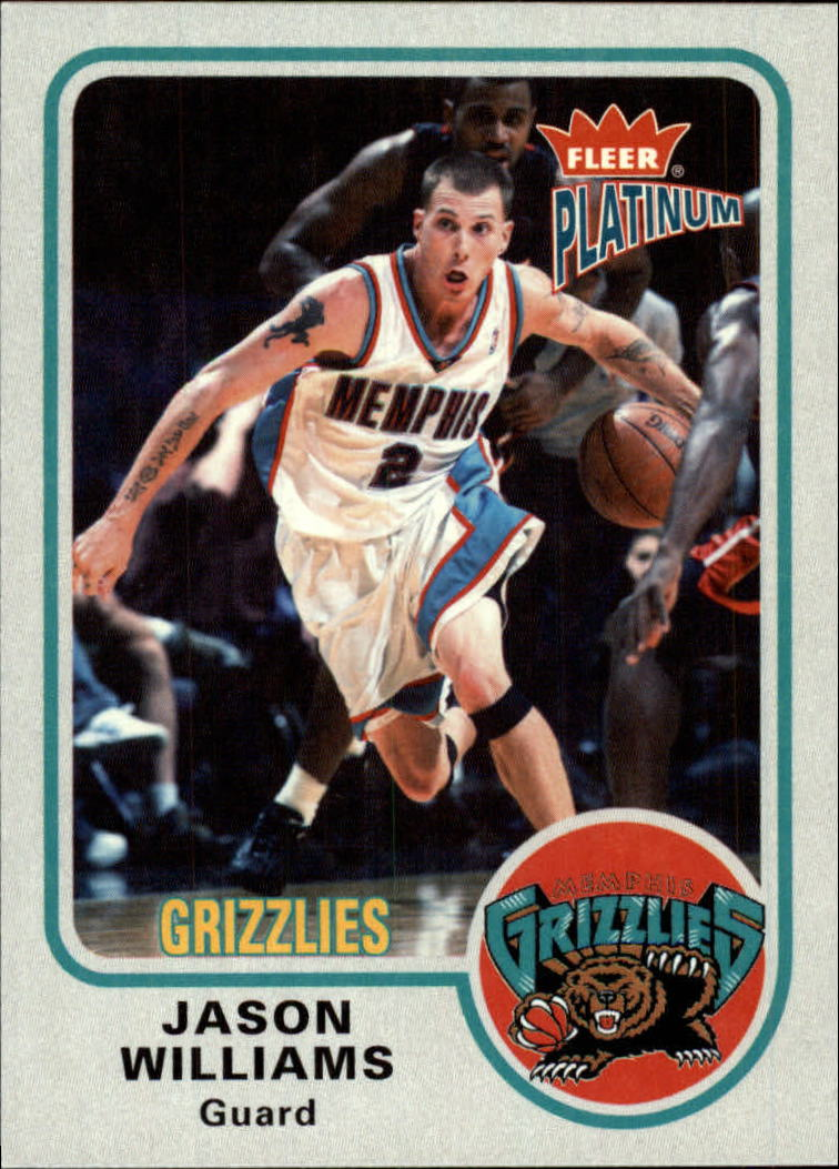 2002-03 Fleer Platinum #38 Jason Williams