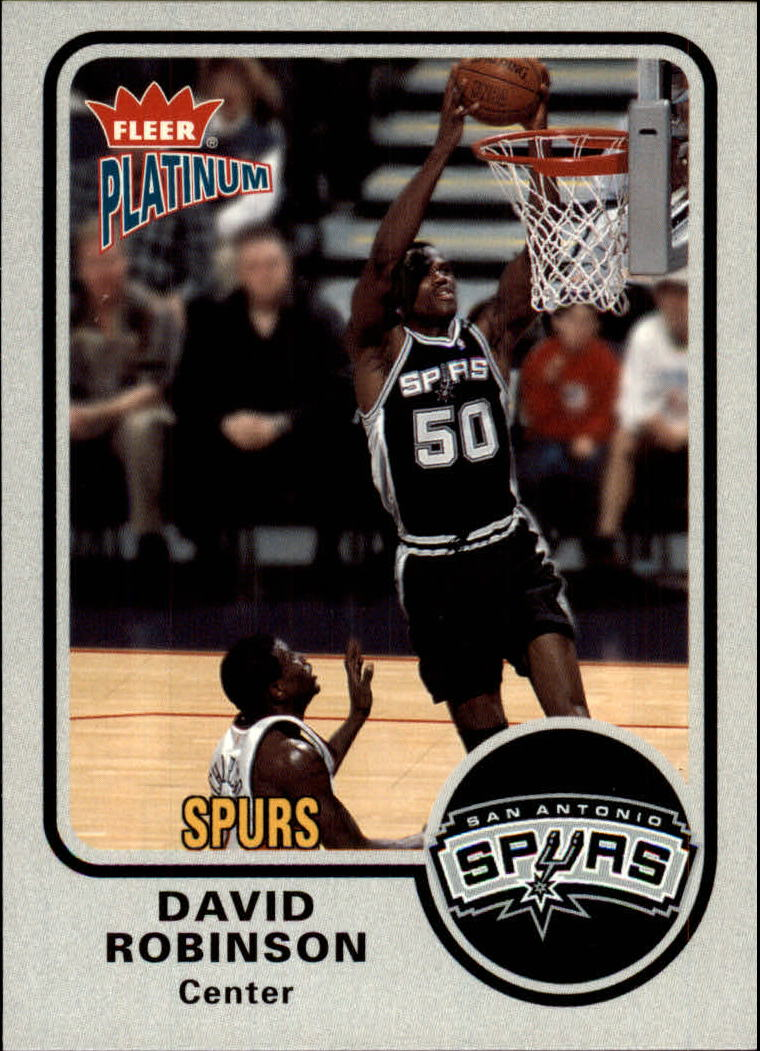 2002-03 Fleer Platinum #42 David Robinson