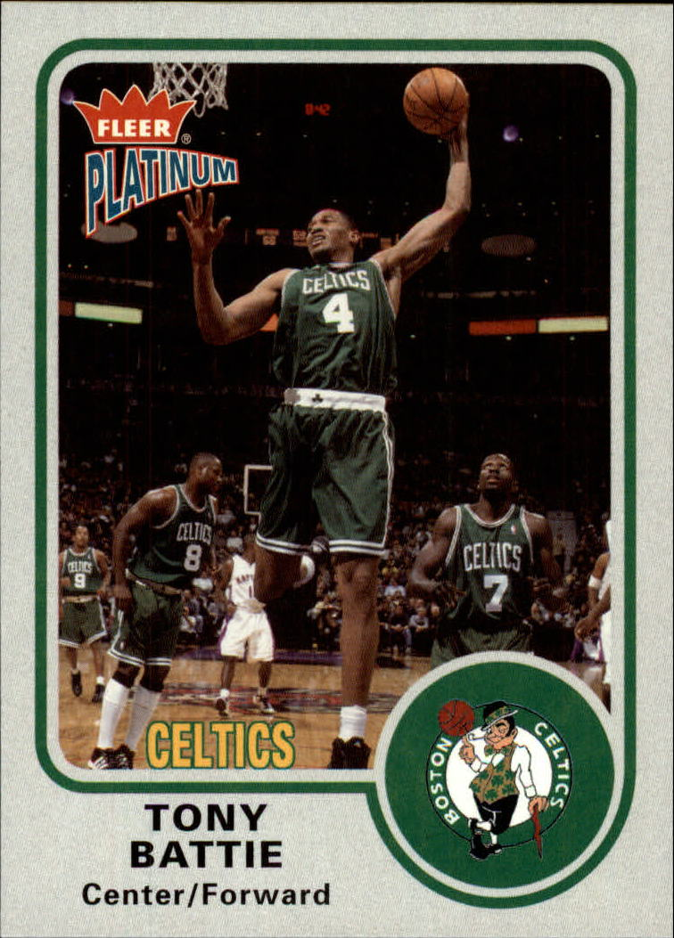 2002-03 Fleer Platinum #49 Tony Battie