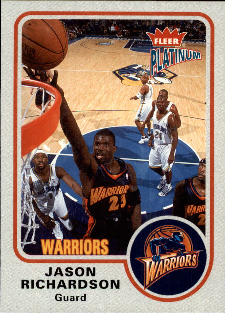 2002-03 Fleer Platinum #71 Jason Richardson