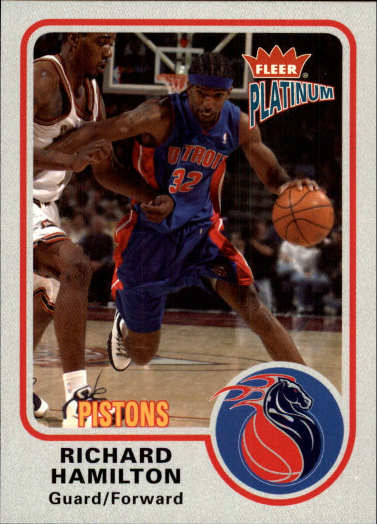 2002-03 Fleer Platinum #74 Richard Hamilton