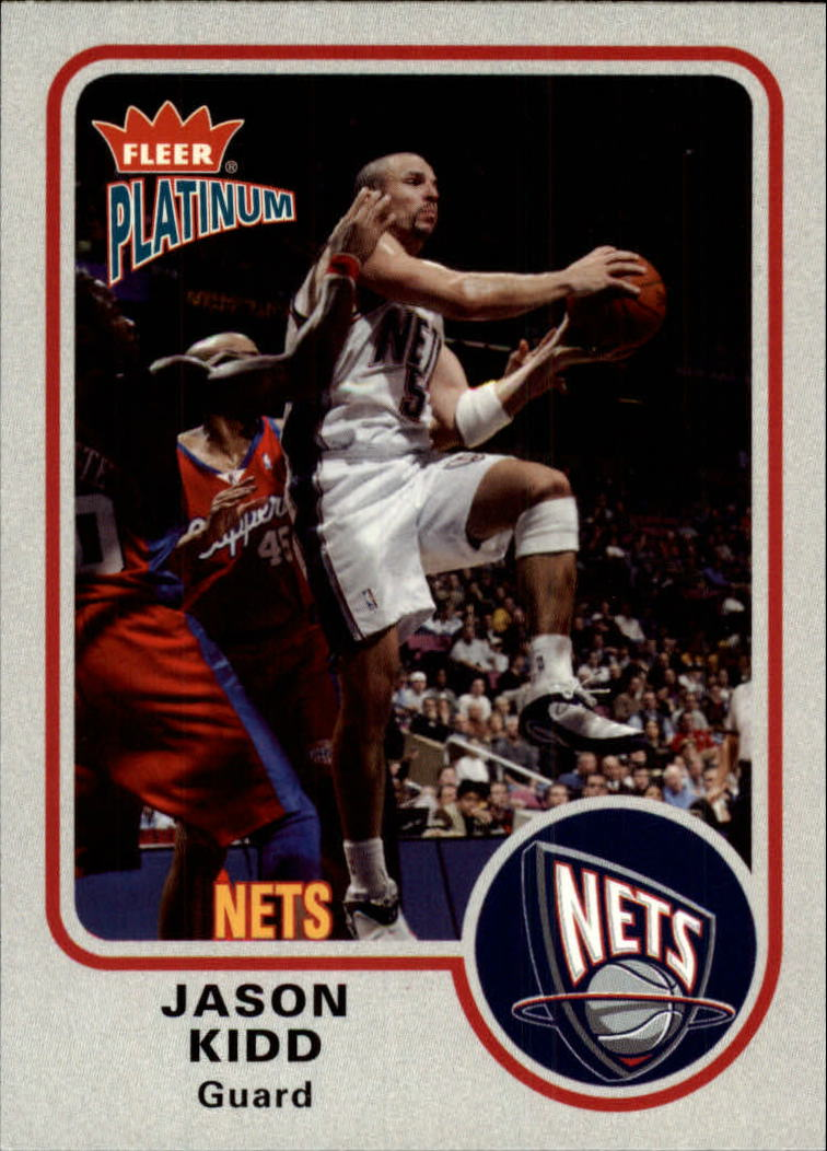 2002-03 Fleer Platinum #75 Jason Kidd