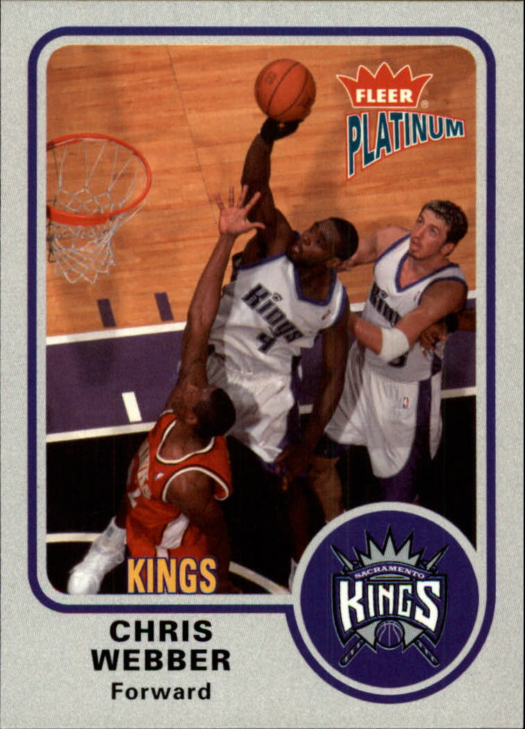 2002-03 Fleer Platinum #80 Chris Webber