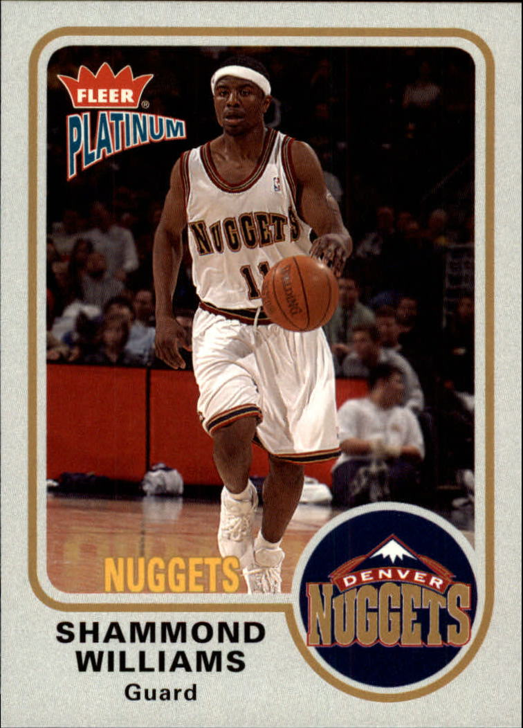 2002-03 Fleer Platinum #87 Shammond Williams