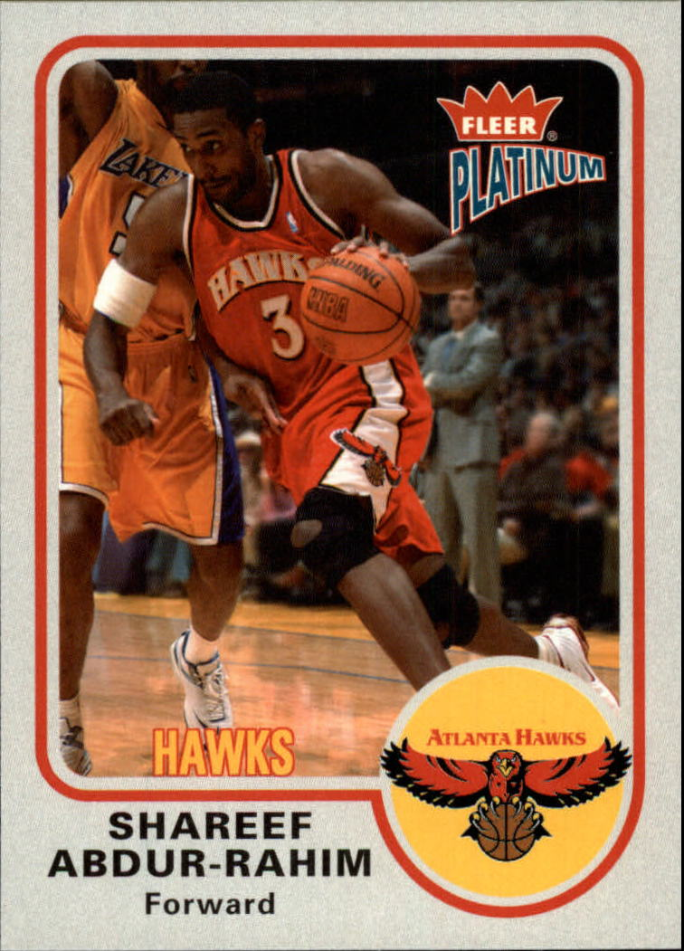 2002-03 Fleer Platinum #89 Shareef Abdur-Rahim