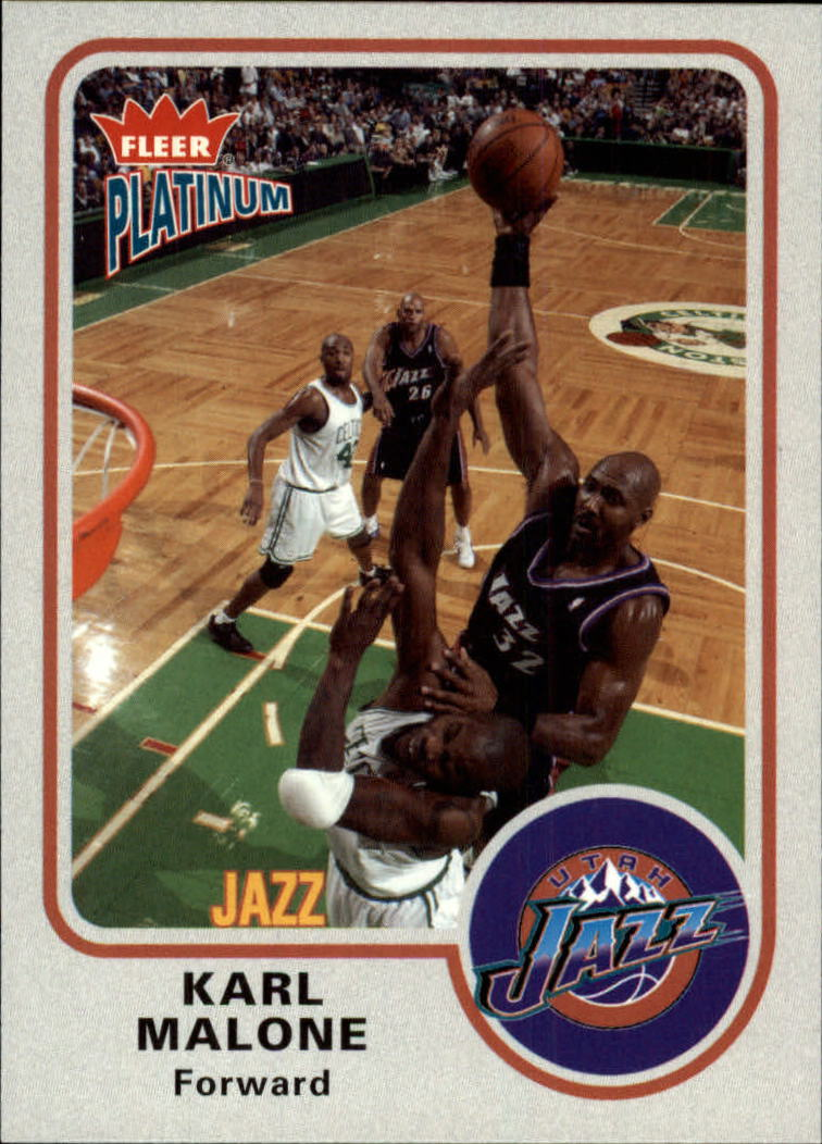 2002-03 Fleer Platinum #93 Karl Malone