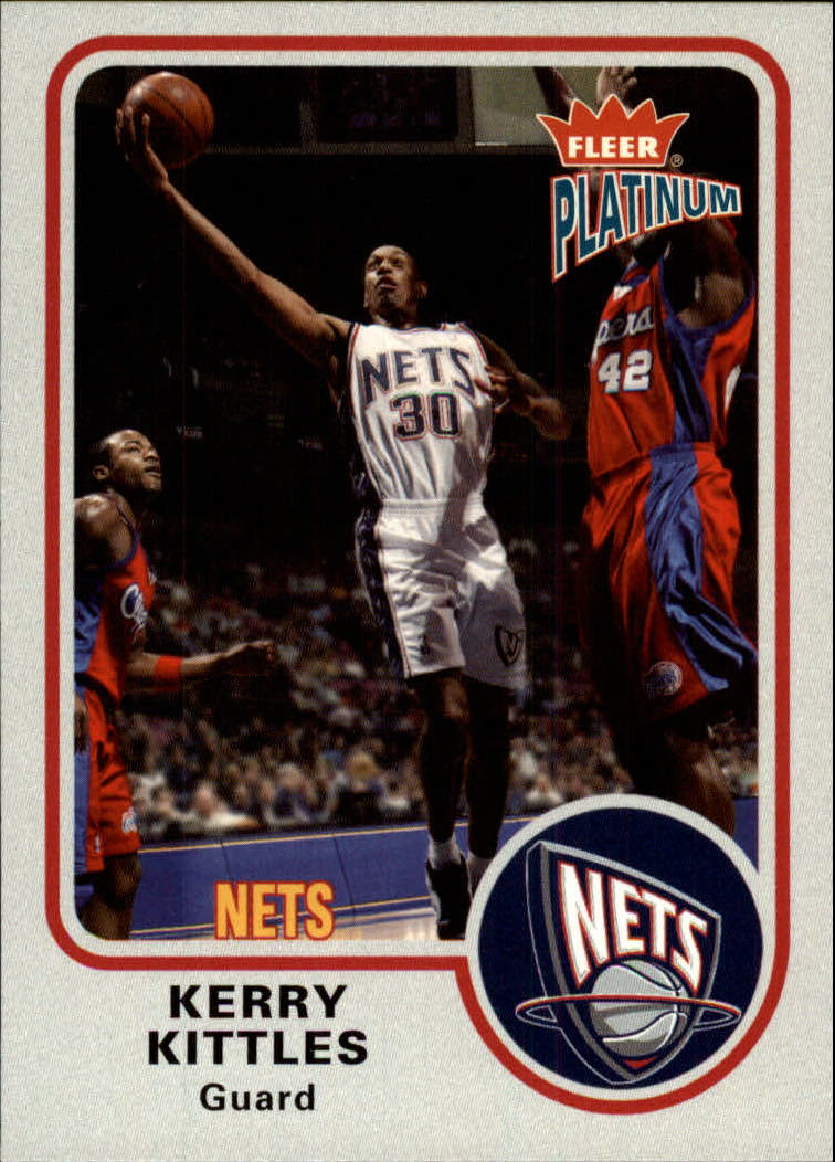 2002-03 Fleer Platinum #94 Kerry Kittles